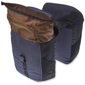 Basil Miles Gepäckträger Doppel-Tasche 32l black slate